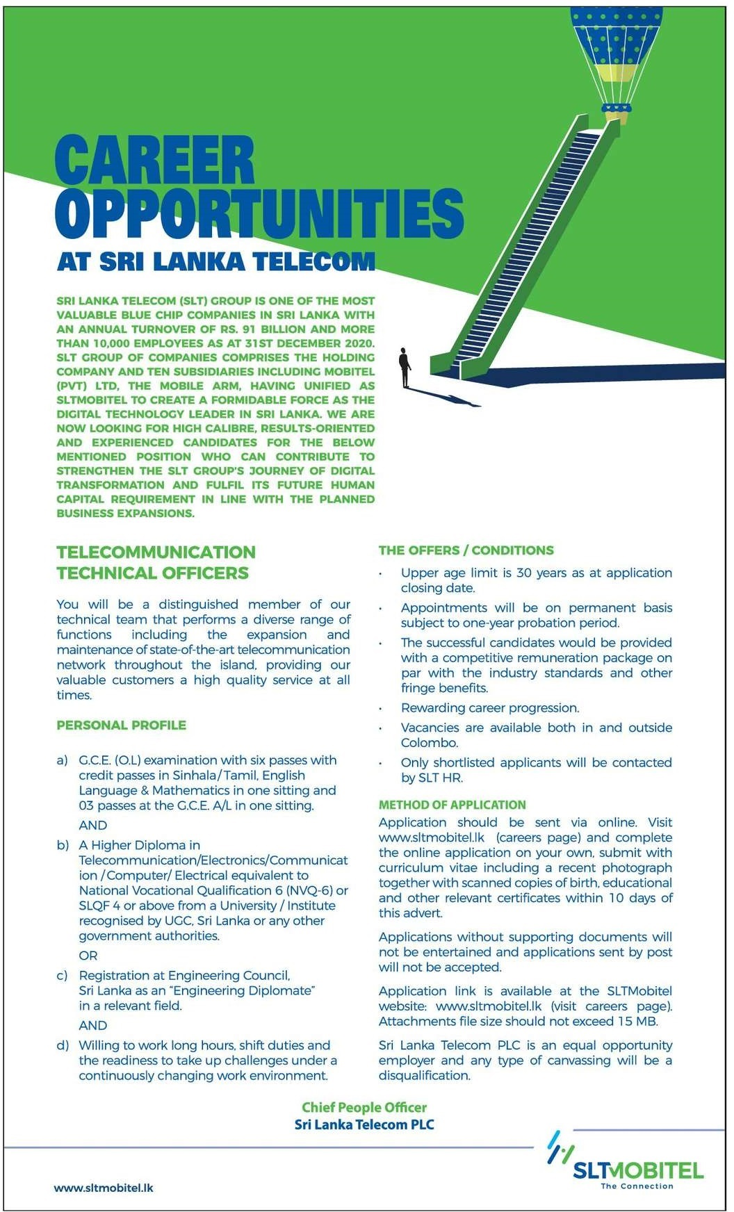 Telecommunication Technical Officers